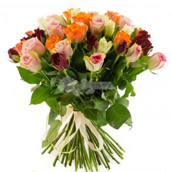Букет из 51 розы Кения
